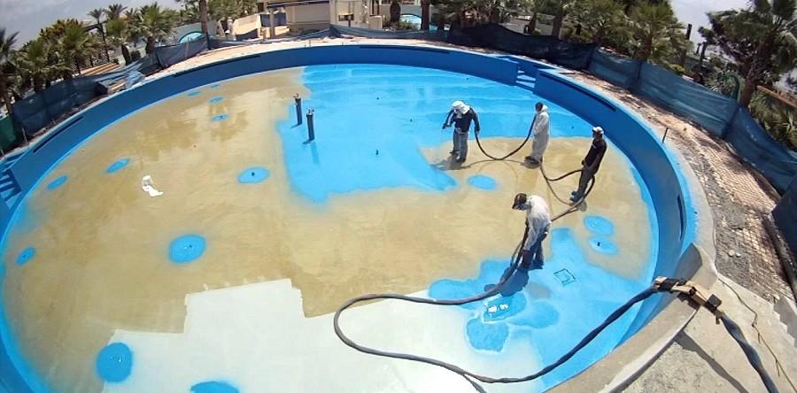 Материалы гидроизоляция бассейнов и резервуаров недорогие наливные полы 3d видео