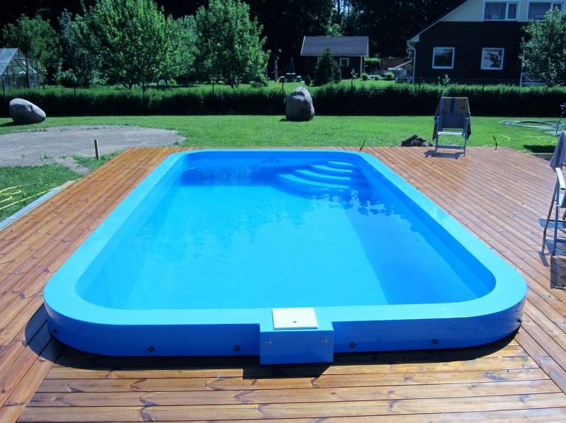 пластиковый бассейн - просто и надежно