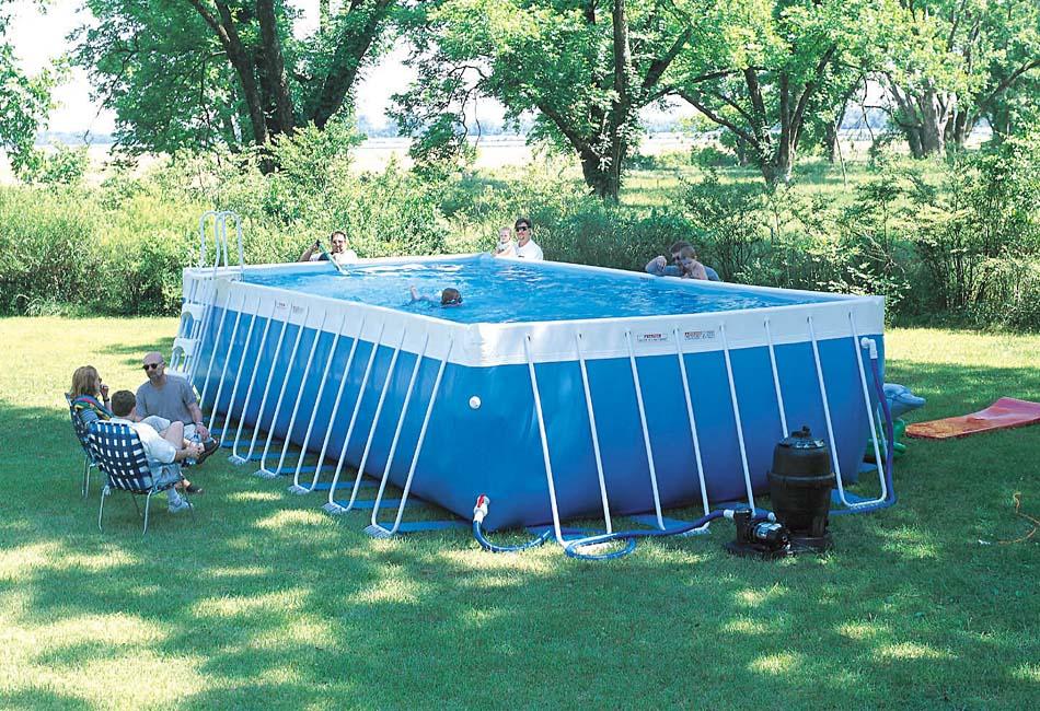 Сборно -разборные типы бассейнов