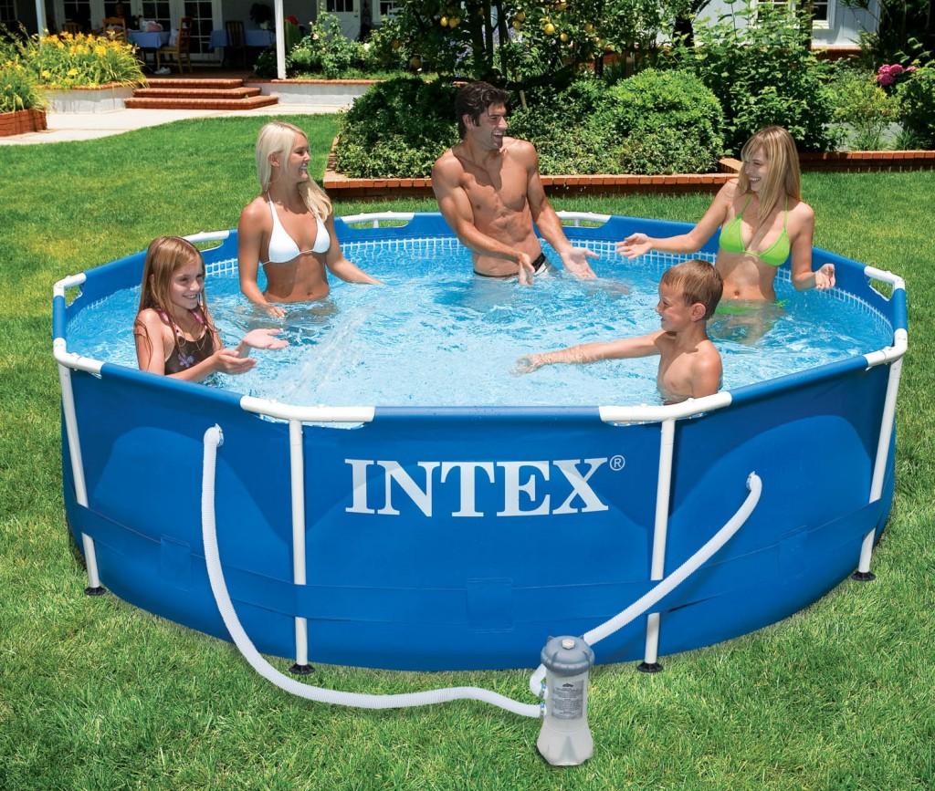 бассейн Интекс