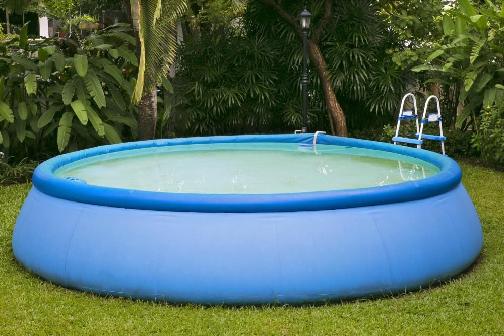 надувной дачный бассейн