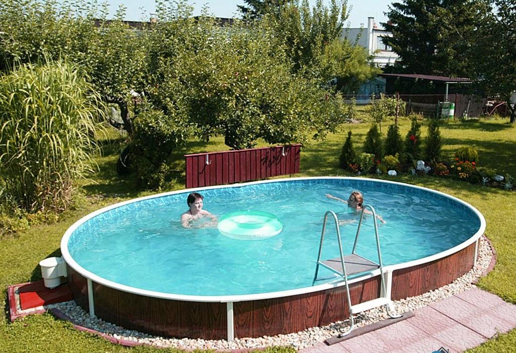 стационарный каркасный бассейн