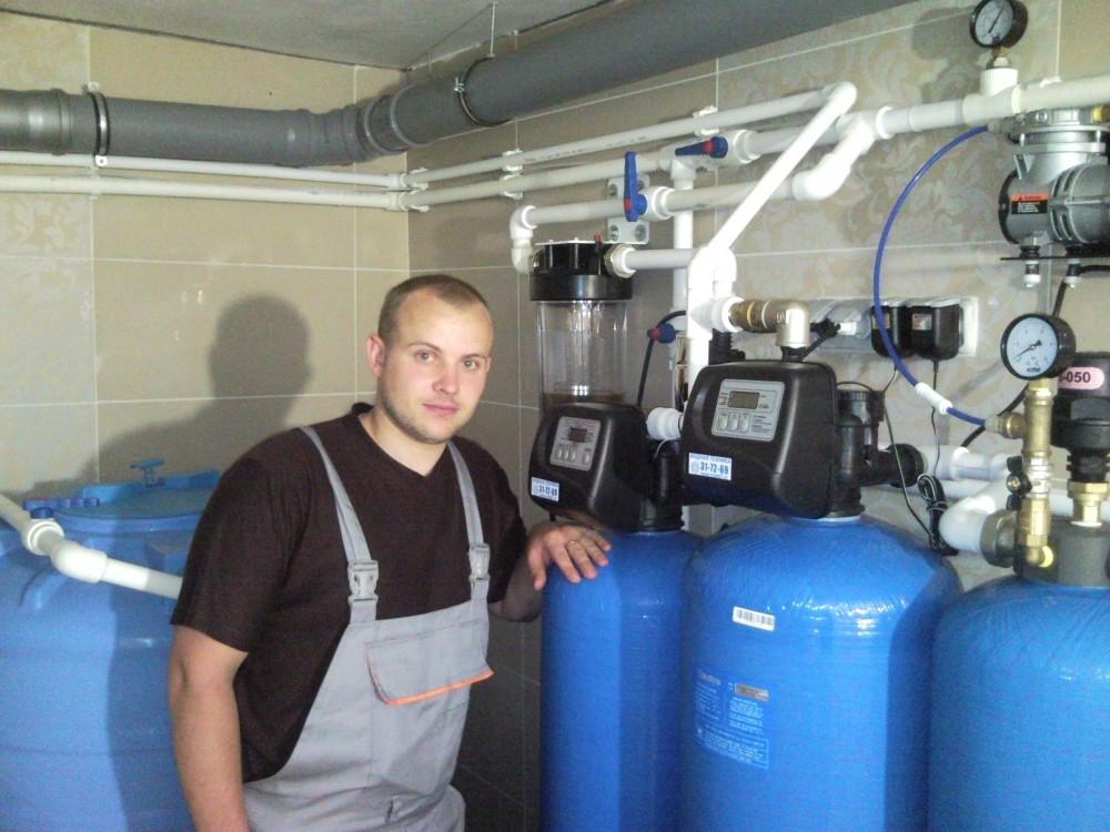 техническое обслуживание и водоподготовка