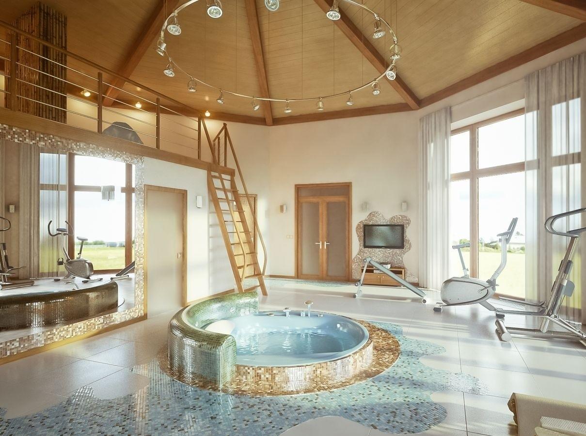SPA- бассейн в доме