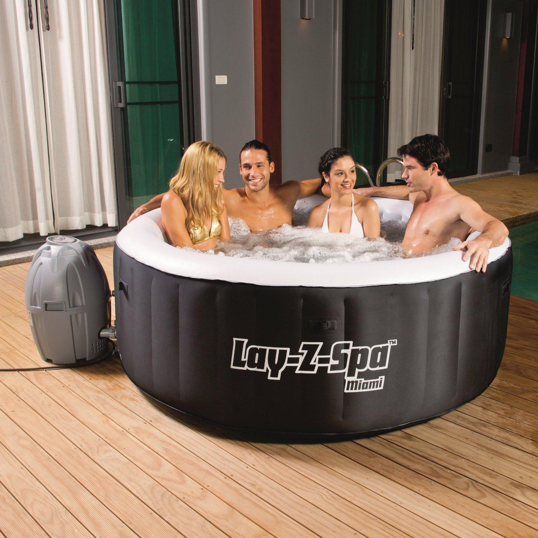 надувной SPA - бассейн - недорогой вариант доступный многим