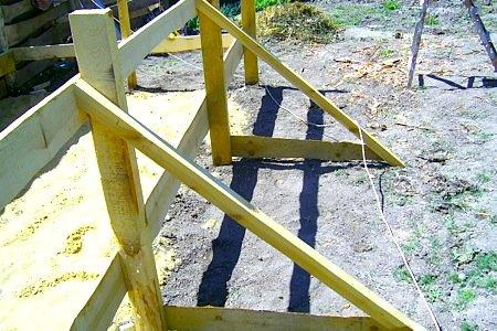 подкосы для стабилизации стенок