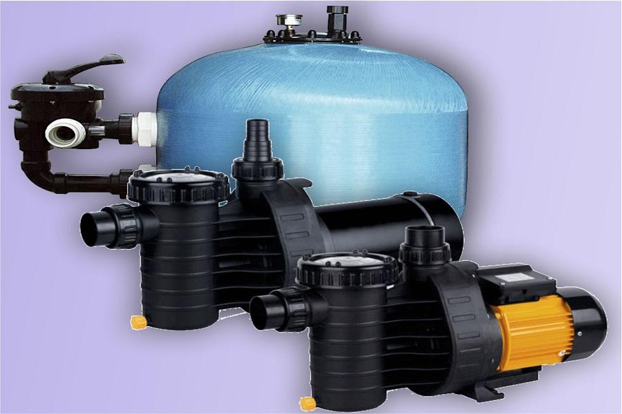 Фильтр для механической очистки воды в бассейне