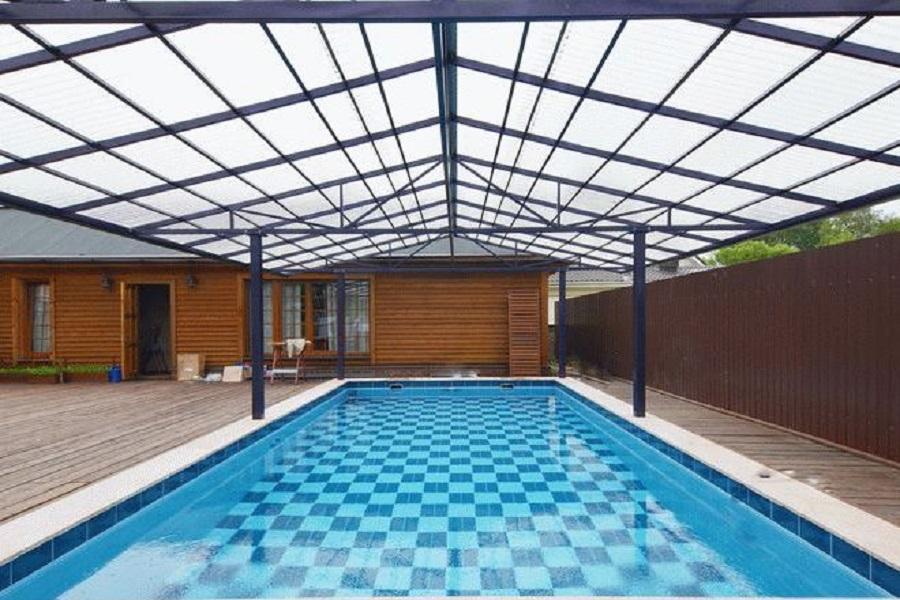 Крытый бассейн для дачи