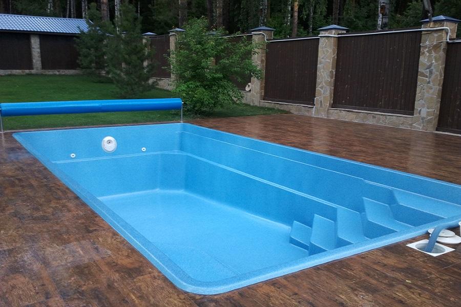 Строительство композитного бассейна