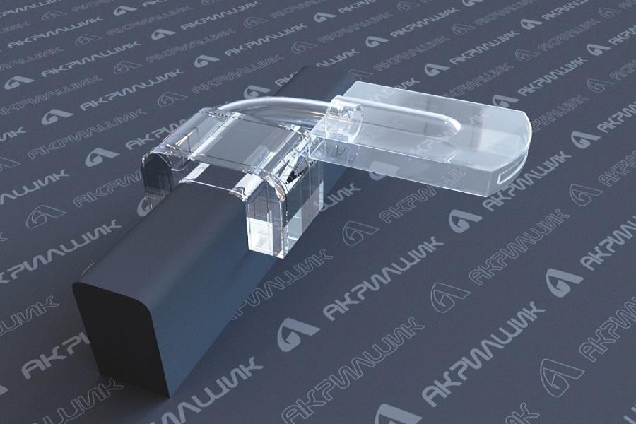 Акриловые аксессуары для бассейнов - разбрызгиватель