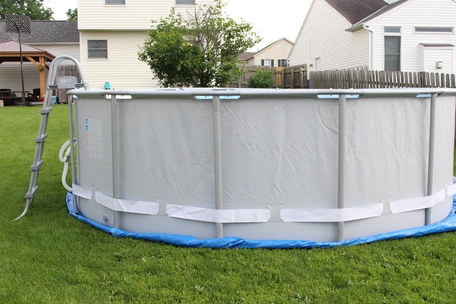 Каркасный бассейн из стали