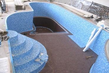 Отделка бассейна пленкой ПВХ самостоятельно
