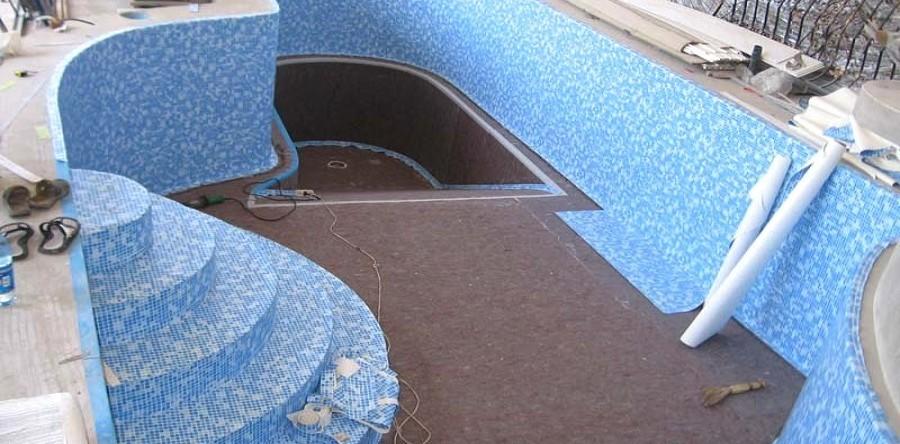 Отделка бассейна пленкой ПВХ. Как выбрать бассейн для дачи?