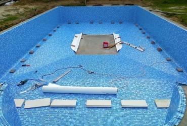 Бассейн из пленки ПВХ: ремонт и реставрация