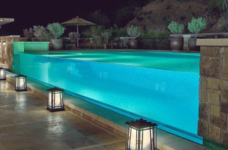 бассейн из акрила